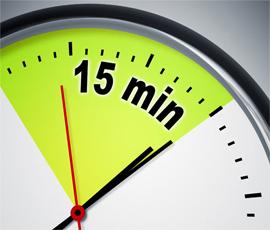 تنها در ۱۵ دقیقه در هر روز چه کاری میتوانید انجام دهید؟