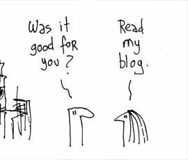 چه عاملی باعث می شود تا شما به بلاگی مراجعه کنید ؟